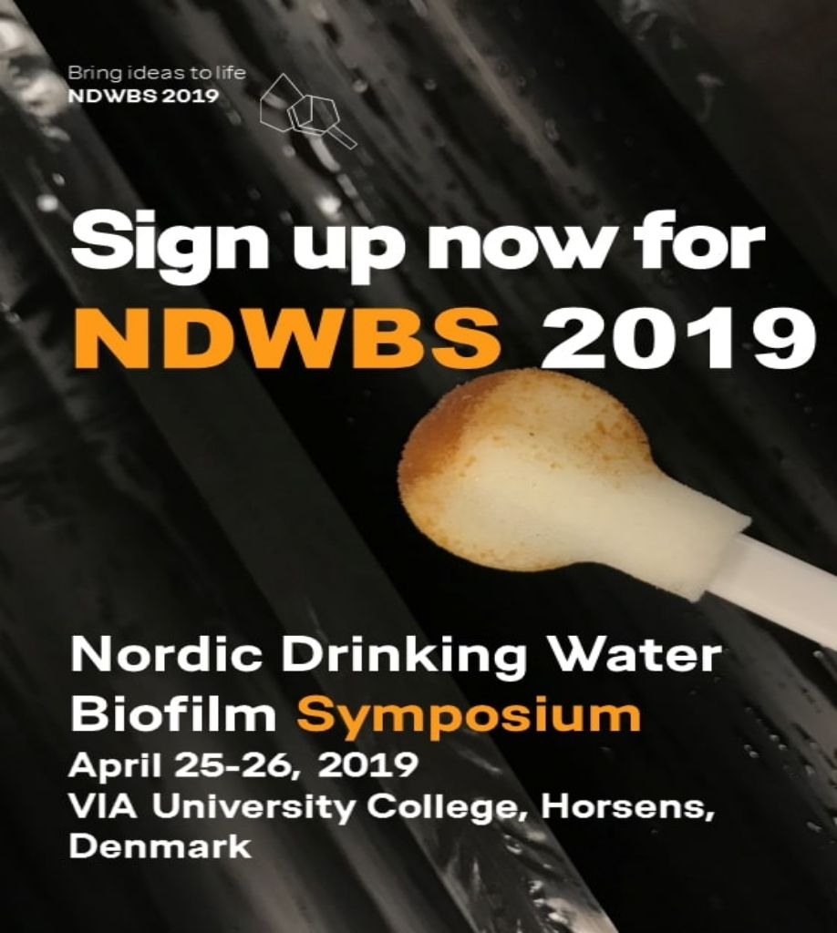 NORDIC DRINKING WATER BIOFILM SYMPOSIUM 2019