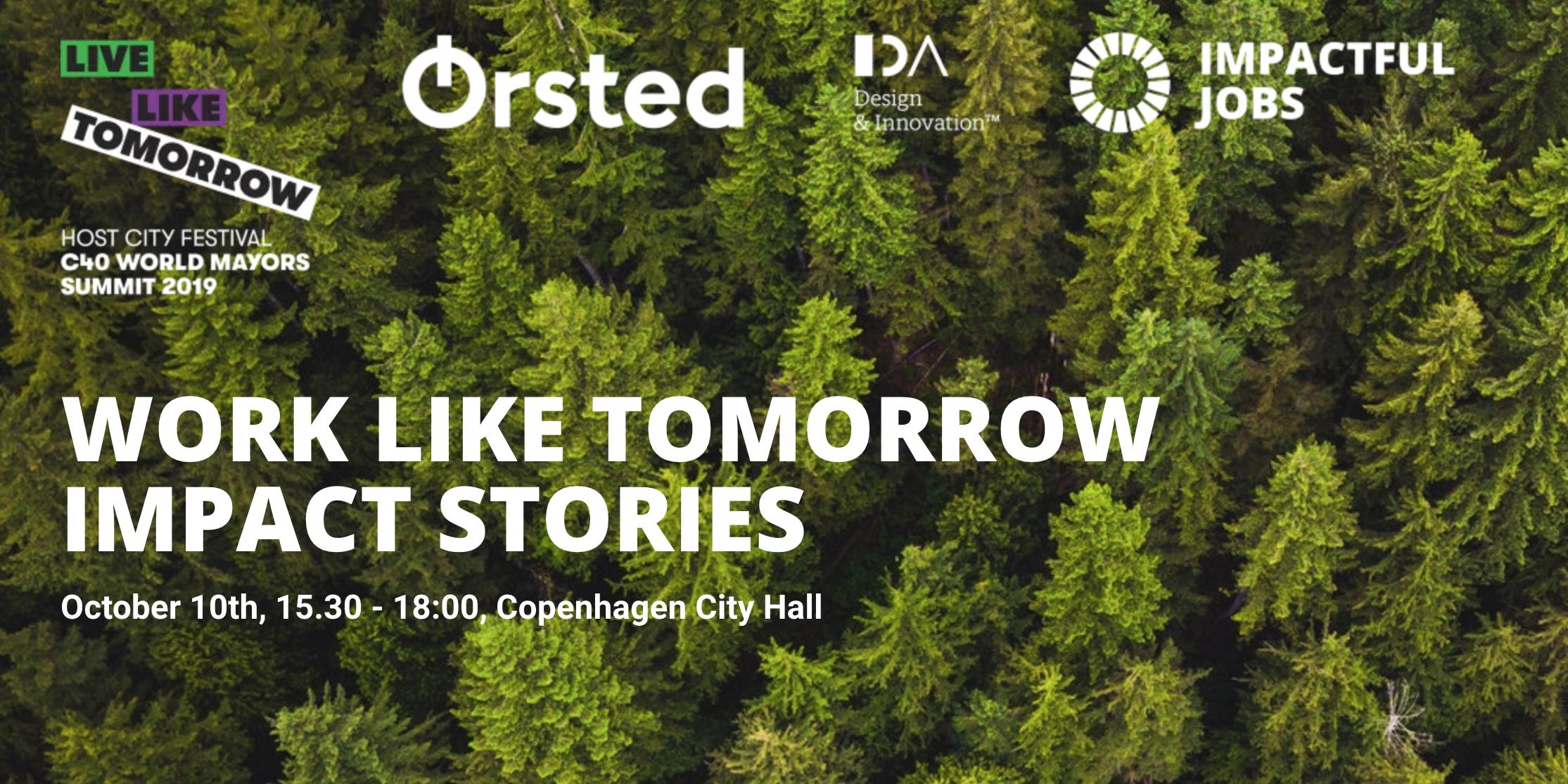 Work Like Tomorrow - Impact Stories