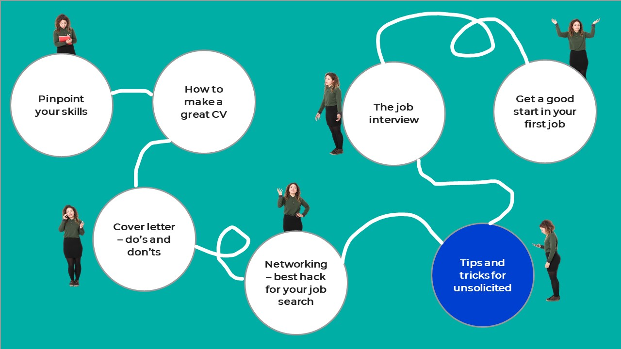Tips and tricks for unsolicited job search