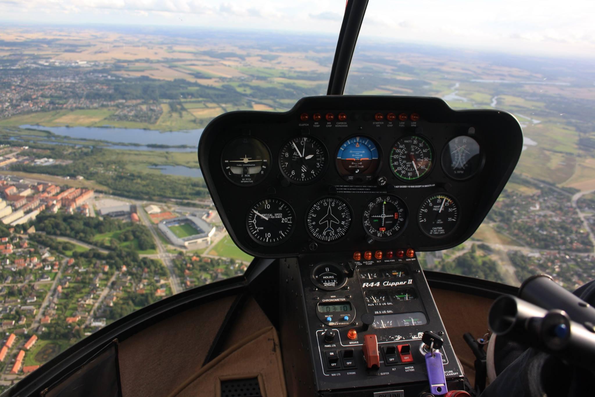 IDA Randers - Helikoptertur 7-8 minutter