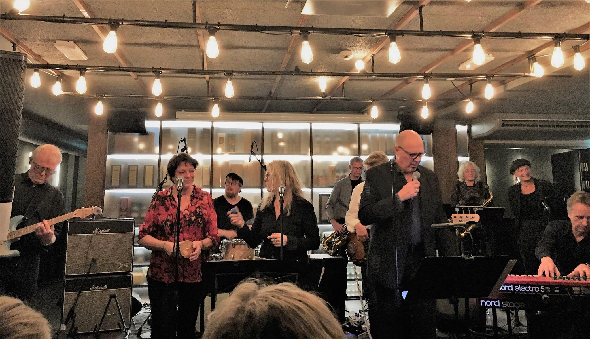 Van the Man Band - Van Morrisons musikalske univers - men først noget god mad