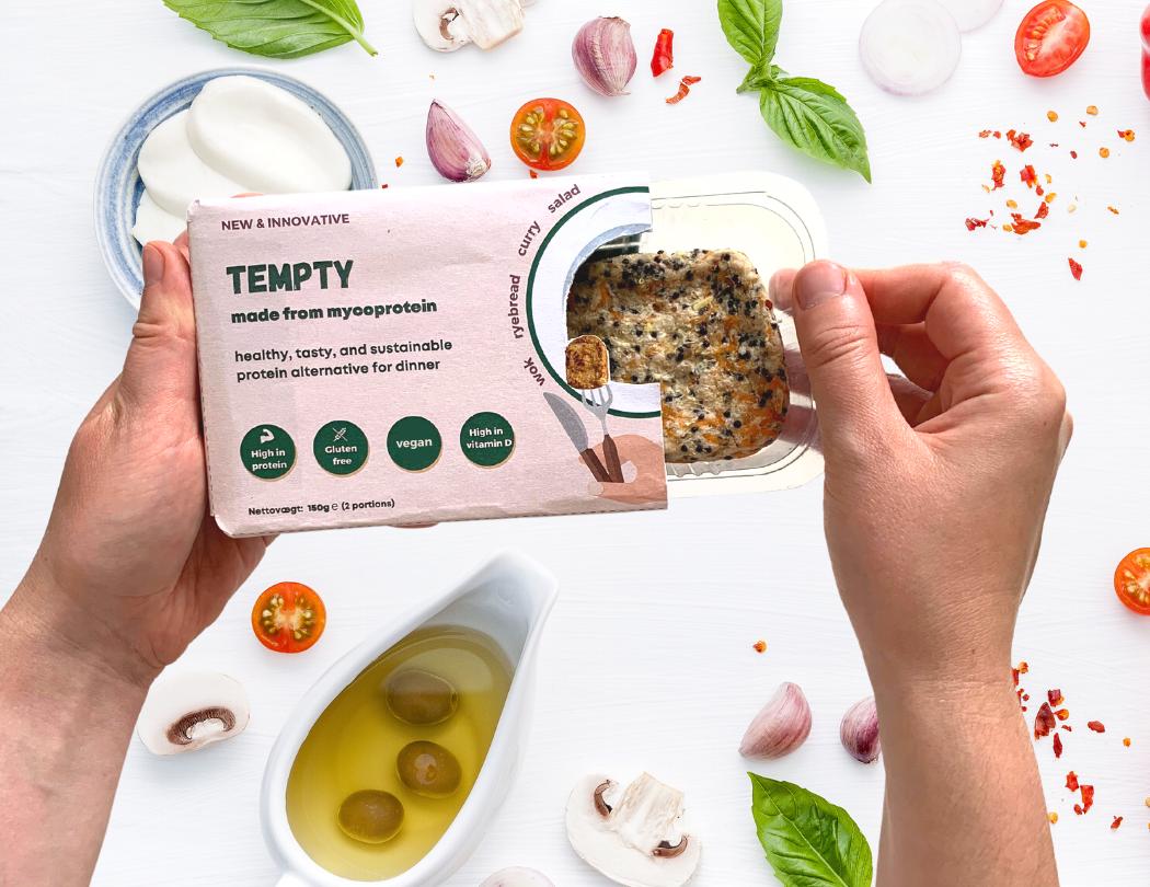 Tempty Foods - Sustainable food based on mycelium