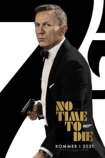 Danmarkspremiere på James Bond: No time To Die i Cinema4 i Skive inkl. sodavand og popcorn